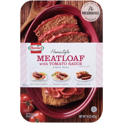 Hormel Homestyle Meatloaf with Tomato Sauce