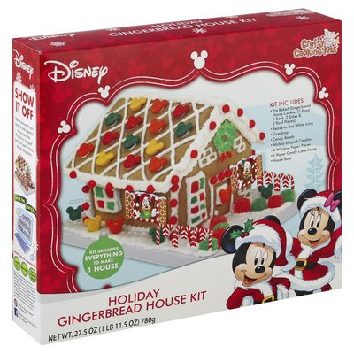 Crafty Cooking Kits Gingerbread House Kit, Holiday, Disney