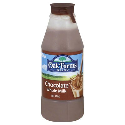 Oak Farms Milk, Whole, Chocolate