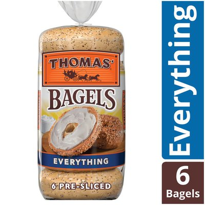 Thomas Everything Pre-Sliced Bagels