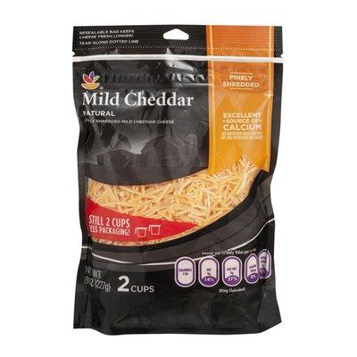 SB Shredded Cheese, Mild Cheddar