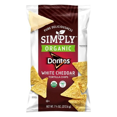Doritos Simply Organic White Cheddar Tortilla Chips