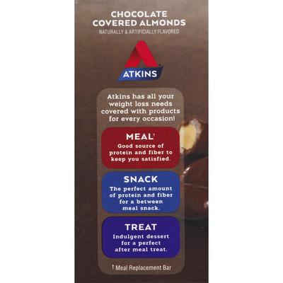 Atkins Almonds, Chocolate Covered