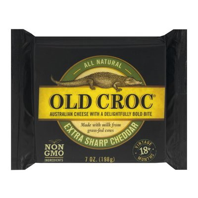 Old Croc Cheese, Extra Sharp Cheddar