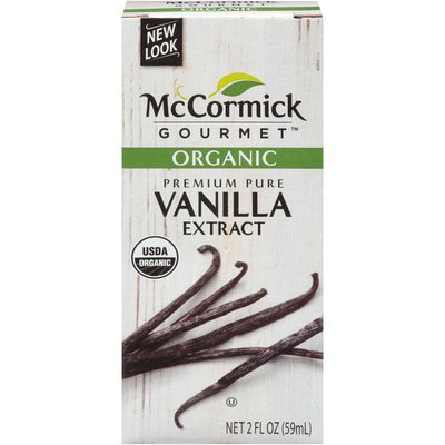 McCormick Gourmet™ Organic Pure Vanilla Extract