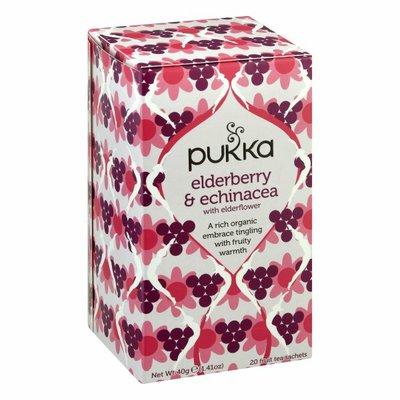 Pukka Organic Herbal Tea Elderberry & Echinacea Fruit Tea