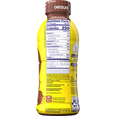 Nestle Nesquik Chocolate Lowfat Milk, Ready to Drink