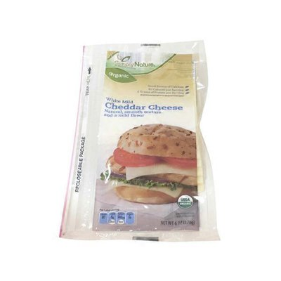 Simply Nature Organic White Cheddar Deli Cheese Slices