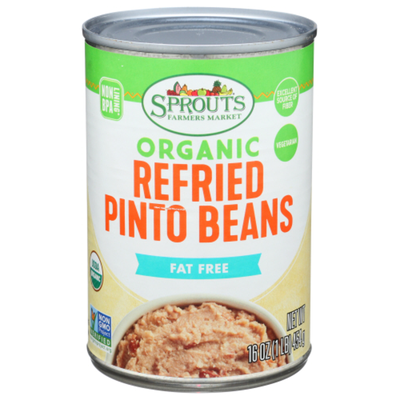 Sprouts Refried Beans, Organic Pinto