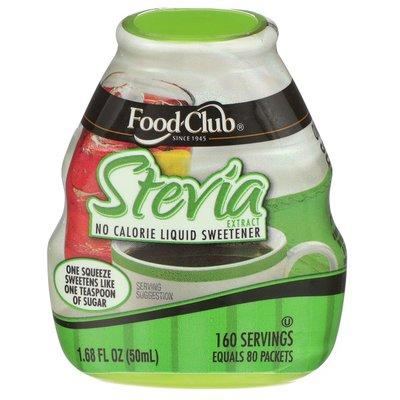 Food Club Stevia Extract No Calorie Liquid Sweetener