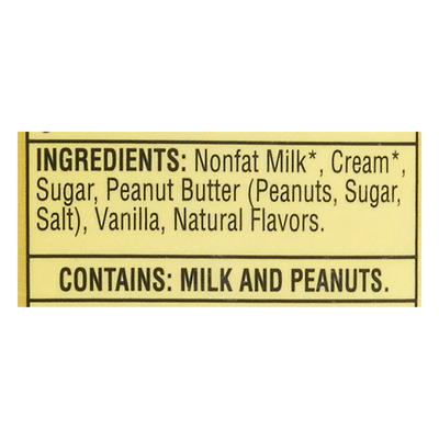 Turkey Hill Vanilla Peanut Butter All Natural Ice Cream