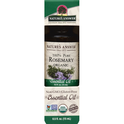 Nature's Answer Essential Oil, Rosemary, Organic