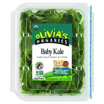 Olivia's Organics Baby Kale