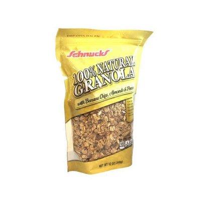 Schnucks 100% Natural Granola With Banana Chips Almonds & Pecans