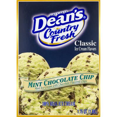 Country Fresh Ice Cream, Mint Chocolate Chip, Classic