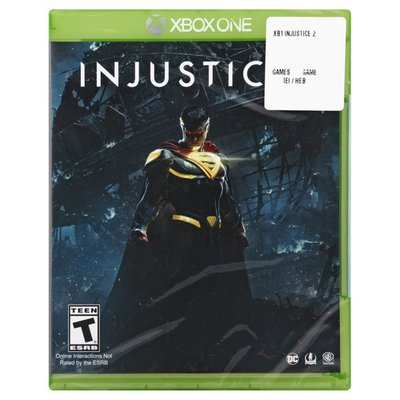 Injustice Game, Injustice 2, Xbox One