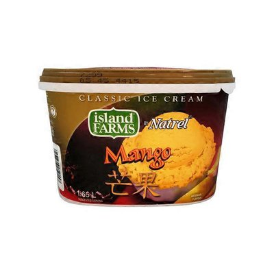 Island Farms Classic Asian Mango Ice Cream