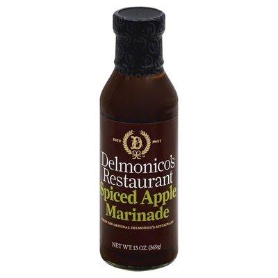 Delmonicos Restaurant Sauce, Marinade, Spiced Apple, Bottle