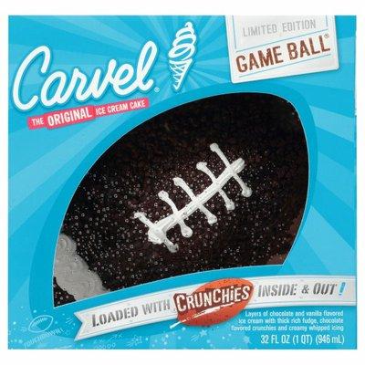 Carvel Limited Edition Holiday Football Ice Cream Cake