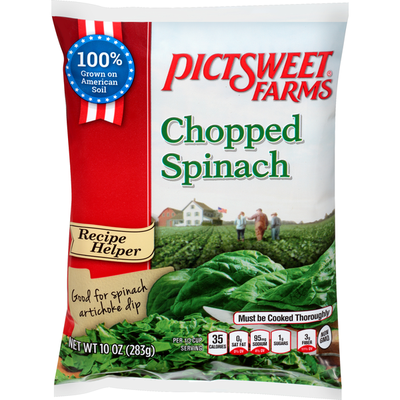 All Natural Farms Chopped Spinach