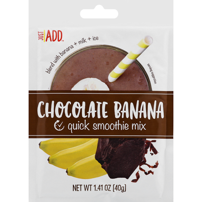 Just ADD Quick Smoothie Mix, Chocolate Banana
