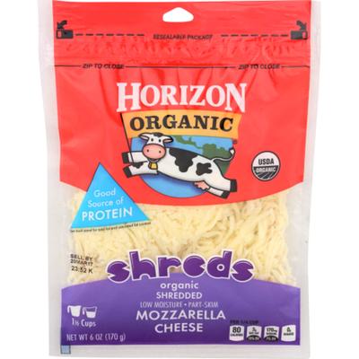Horizon Organic Mozzarella Shredded Cheese