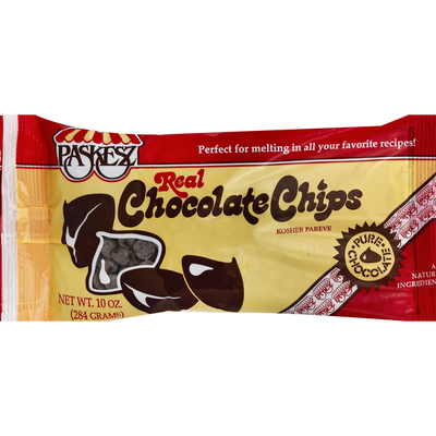 Paskesz Chocolate Chips, Real