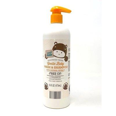 Little Journey Gentle Baby Wash & Shampoo With Oatmeal Extract