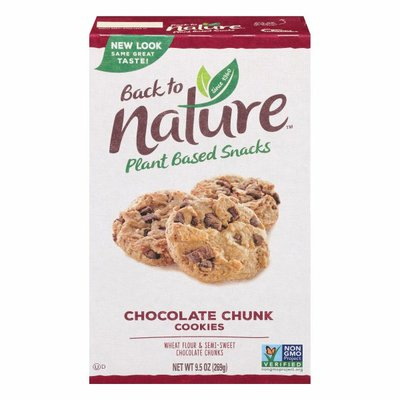 Back to Nature Cookies, Chocolate Chunk