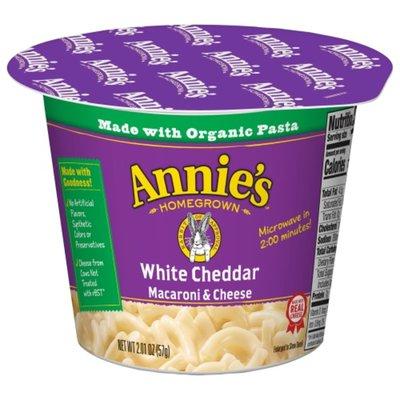Annie's Macaroni & Cheese, White Cheddar