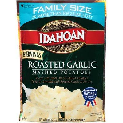 Idahoan Roasted Garlic Mashed Potatoes Family Size