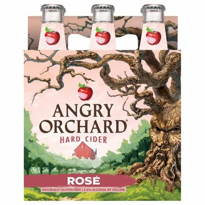 Angry Orchard Rosé Hard Apple Cider, Spiked