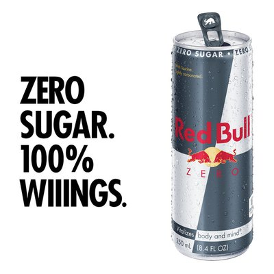 Red Bull Energy Drink, Zero, Fl Oz