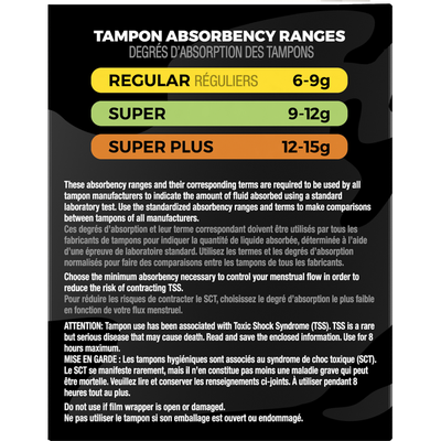 U by Kotex Click Compact Tampons, Super Absorbency, Unscented
