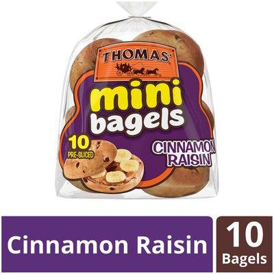 Thomas' Cinnamon Raisin Mini Bagels