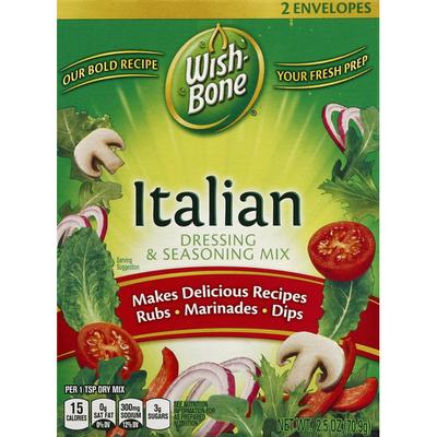 Wish-Bone Dressing & Seasoning Mix, Italian