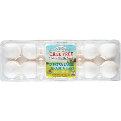 Sprouts Extra Large Grade A Cage-Free Eggs