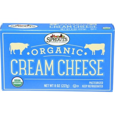 Sprouts Organic Cream Cheese