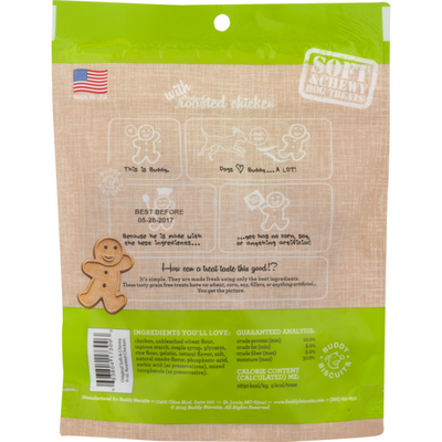 Buddy Biscuits Dog Treats Roasted Chicken
