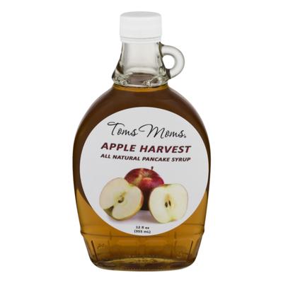 Toms Moms Pancake Syrup Apple Harvest