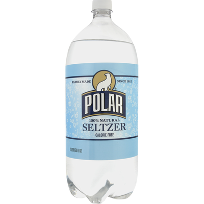 Polar Seltzer, 100% Natural
