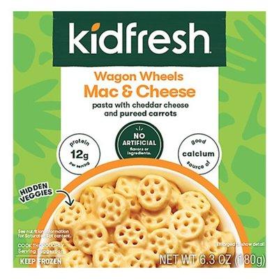 Kidfresh Mac & Cheese, Wagon Wheels