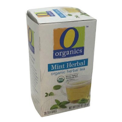 O Organics Organic Herbal Mint Tea Bags