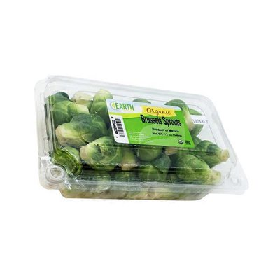 4Earth Organic Brussel Sprouts