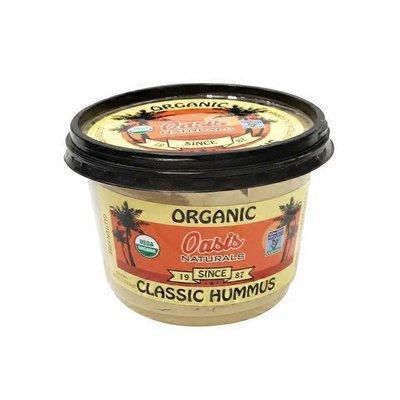 Oasis Naturals Organic Classic Hummus