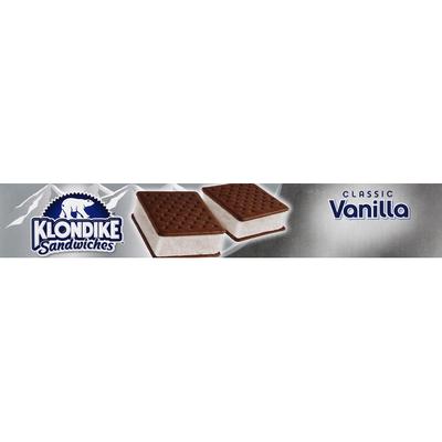 Klondike Ice Cream Sandwiches Vanilla