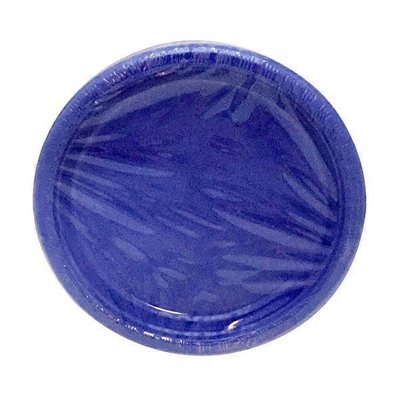 First Street Fs Touch Of Color True Blue Plastic Plate 7 Inch