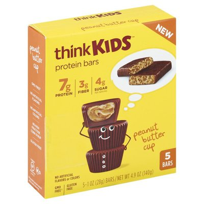 thinkKids Protein Bars Peanut Butter Cup