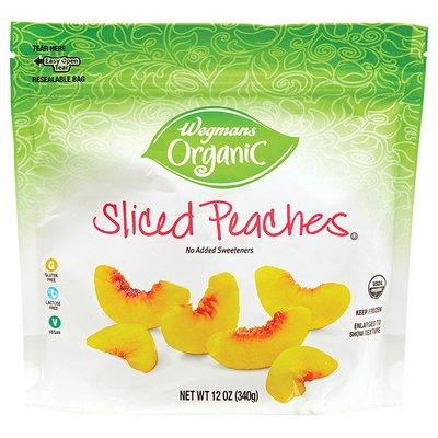 Wegmans Organic Sliced Peaches