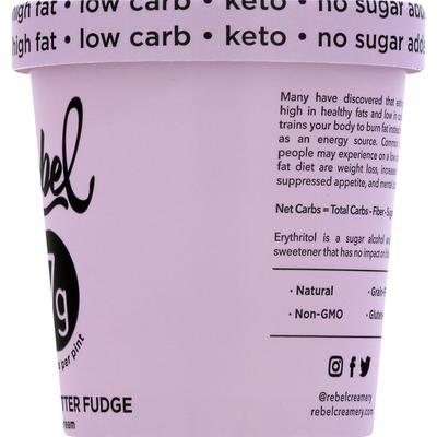 Rebel Ice Cream, Peanut Butter Fudge